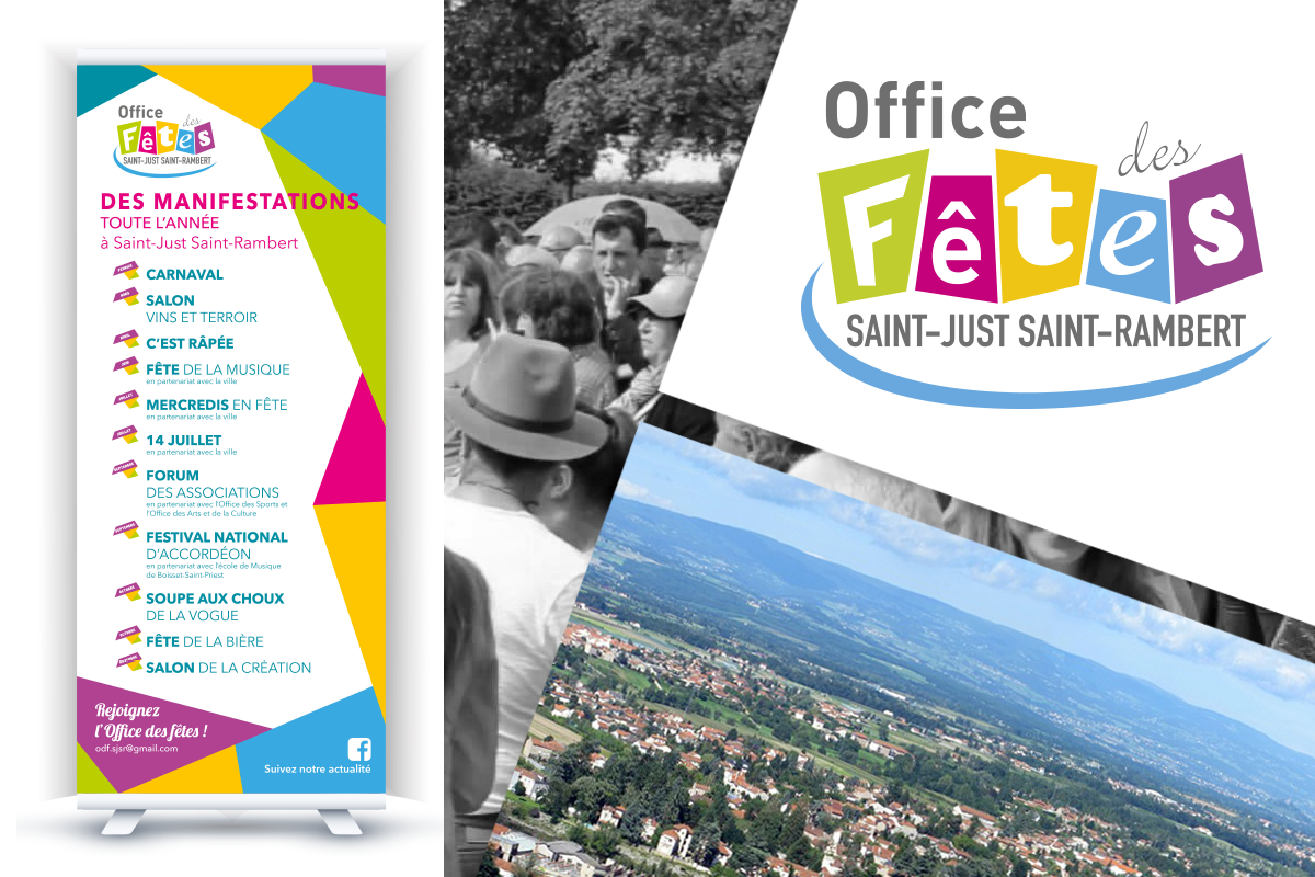 Office des fe tes saint just saint rambert logo